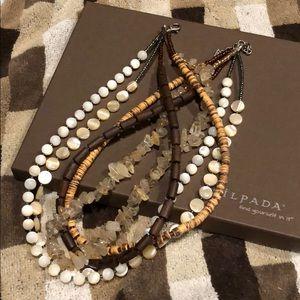 """Silpada Multi Chain Necklace 16"""""""
